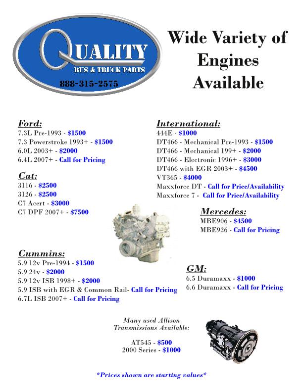 Engine Costs